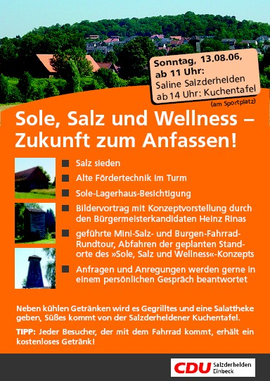 Sole, Sport und Wellness